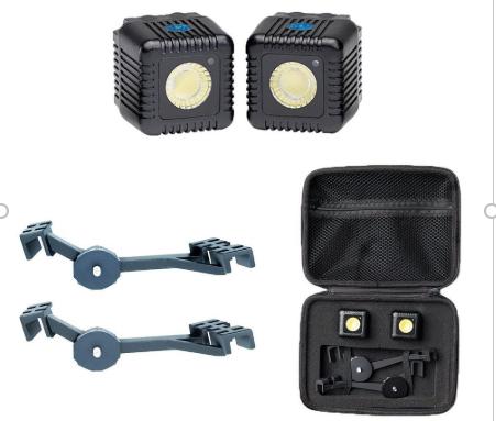 verlichting drones met beschermhoes en houder voor belichting