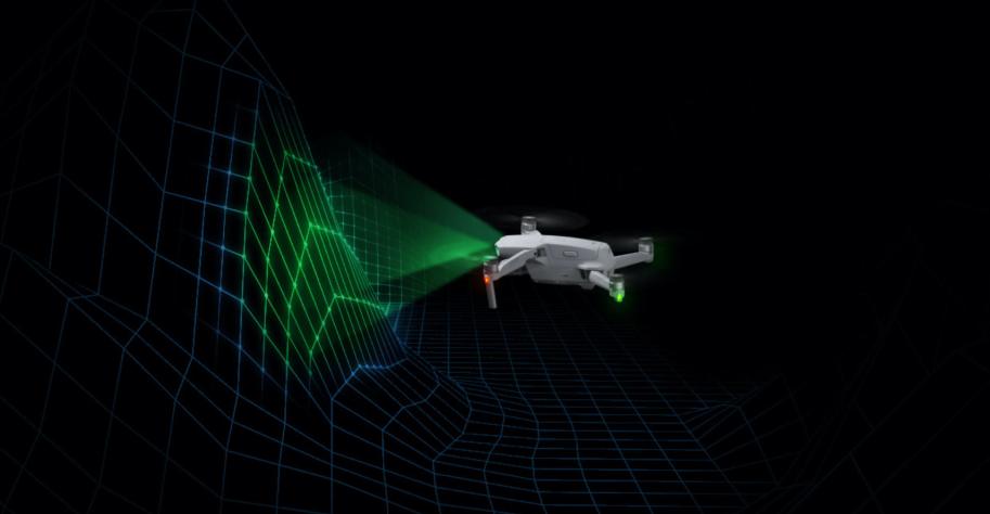DJI Mavic Air 2 sensors voor