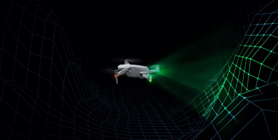 DJI Mavic Air 2 sensors achter