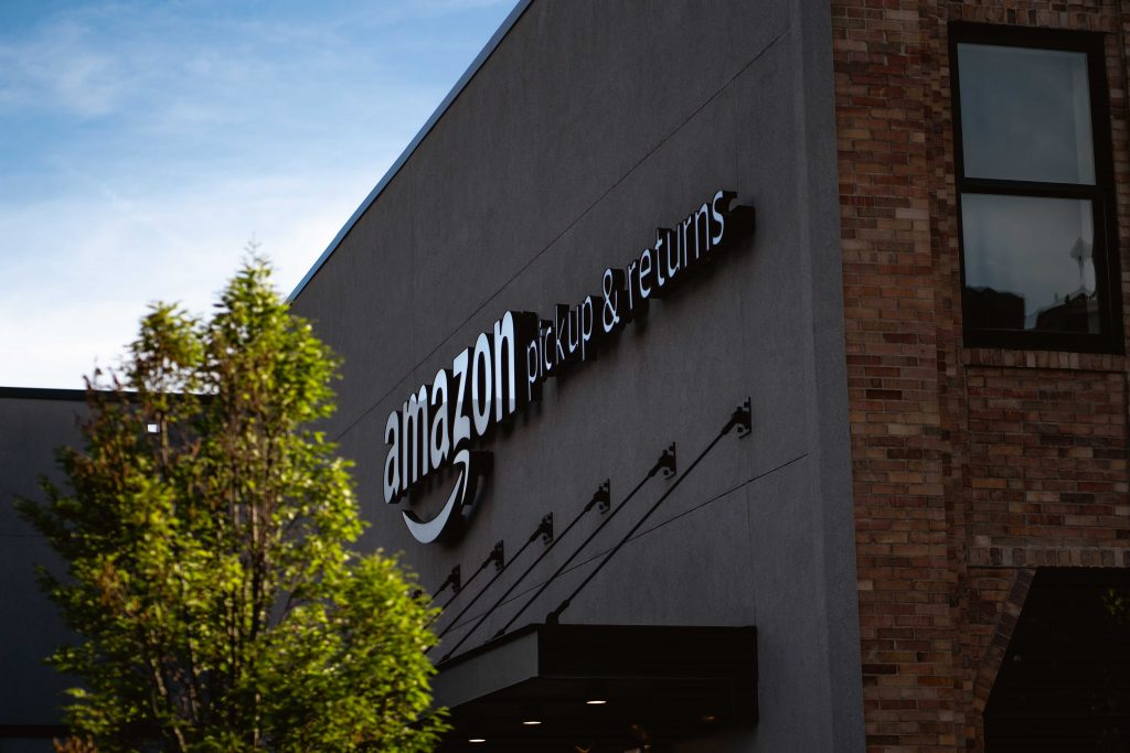 amazon levering en aflever centrum