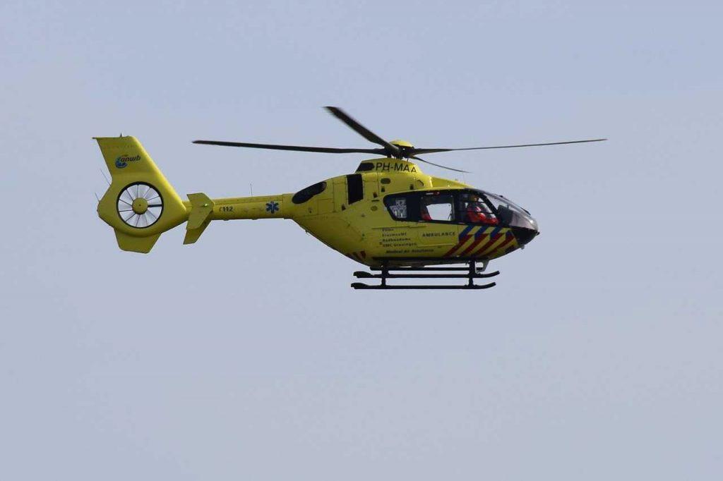 traumahelikopter van nederlandse ambulance