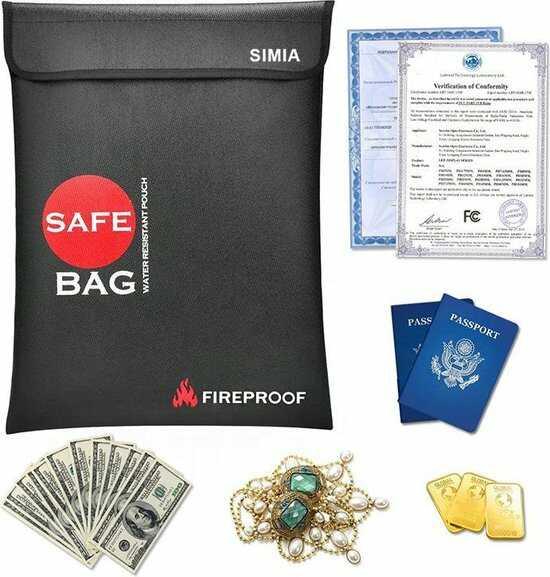 LiPo safebag zwart beschermhoes batterijen