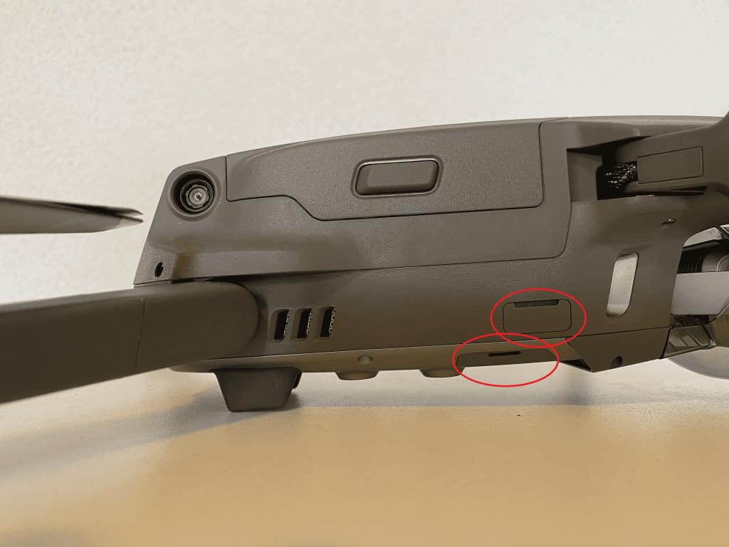 Mavic 2 Pro openingen drone