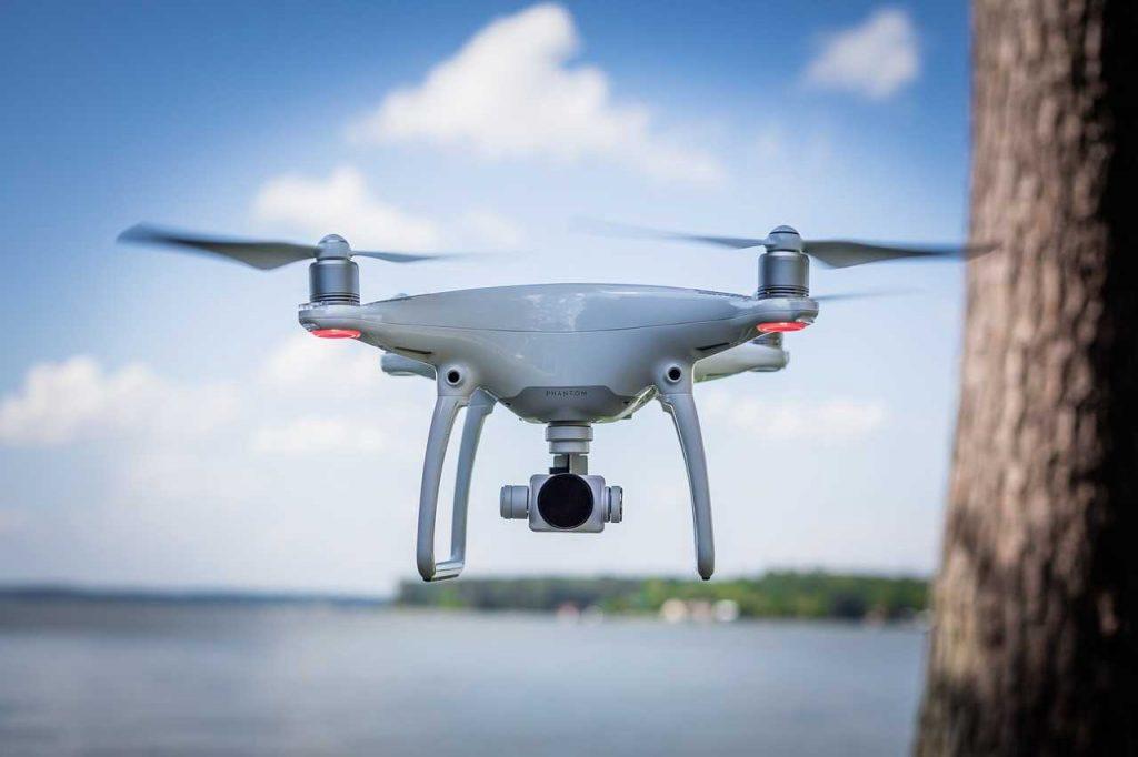 Drone blijft niet stil hangen
