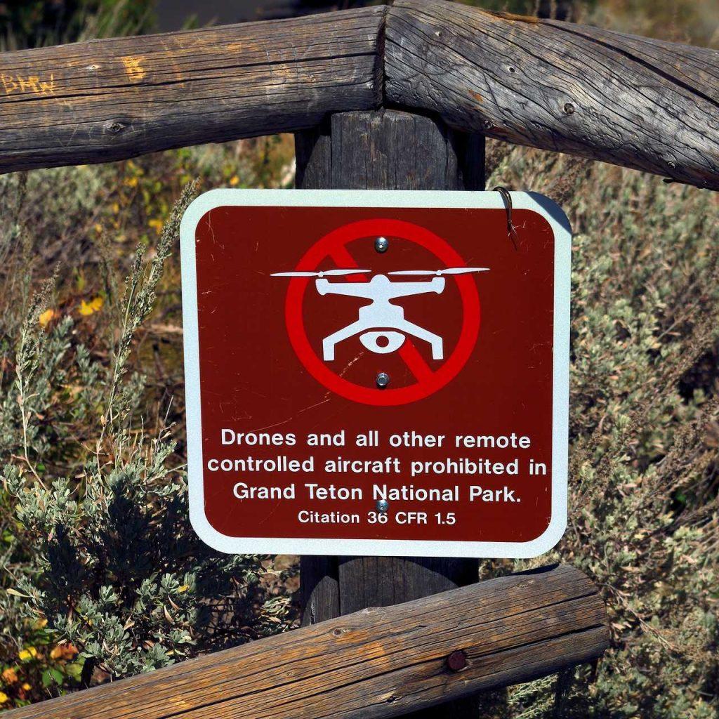 drone verbod waarschuwing gevaar verboden