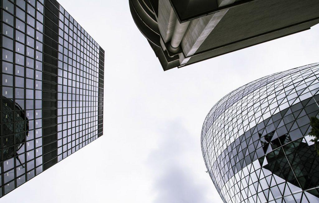 gebouwen stad architectuur hoog