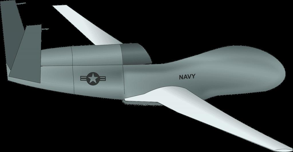 global hawk drone defensie leger oorlog aanval