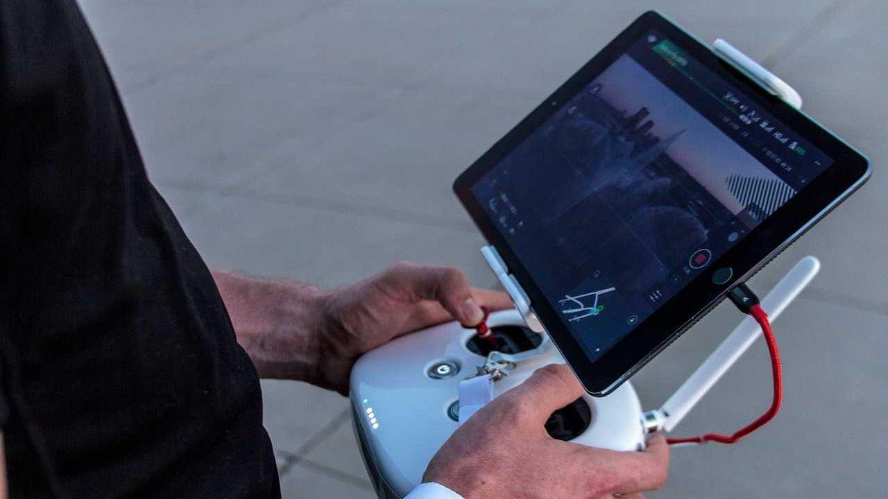 drone controller live videobeeld drone besturen