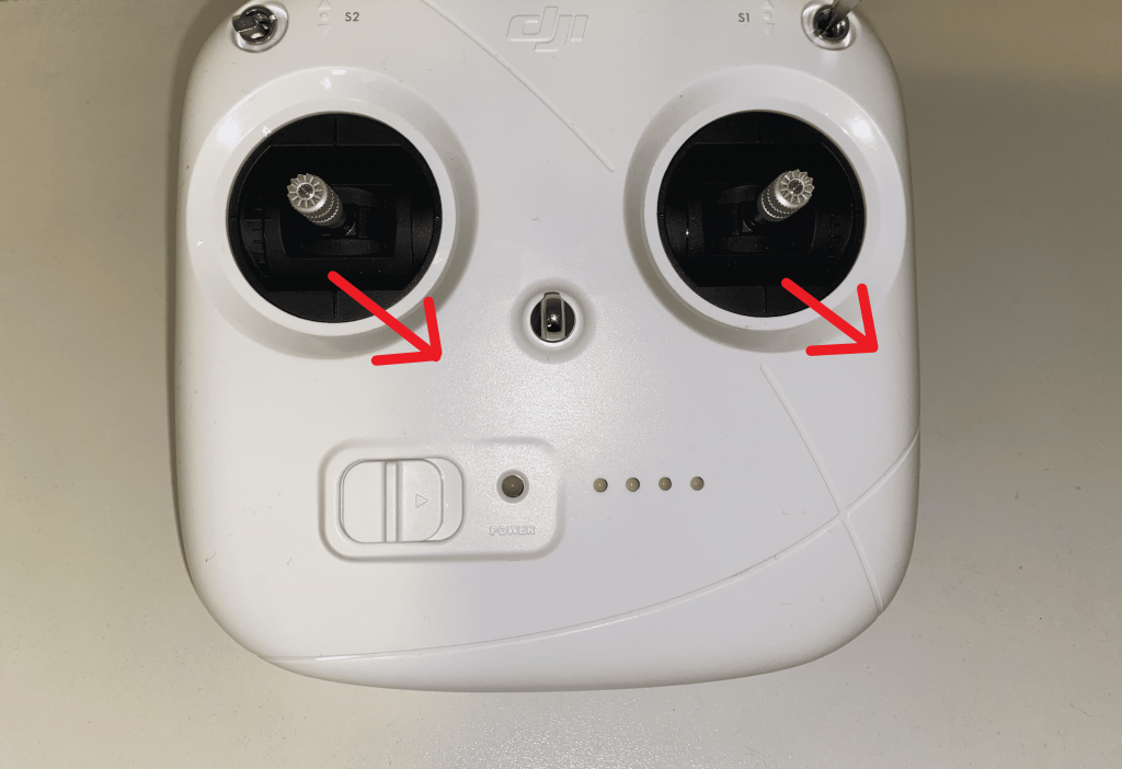 phantom 3 standard controller kalibreren