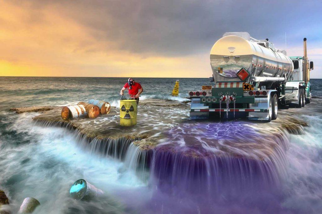 vervuiling gifitge stoffen verspreiding waterveruiling