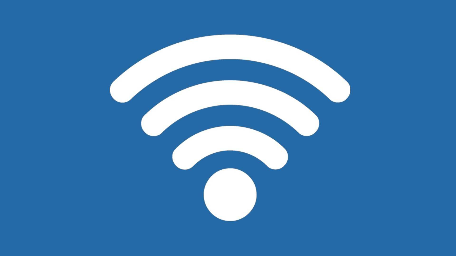 wifi connectie logo design ontwerp teken icoontje