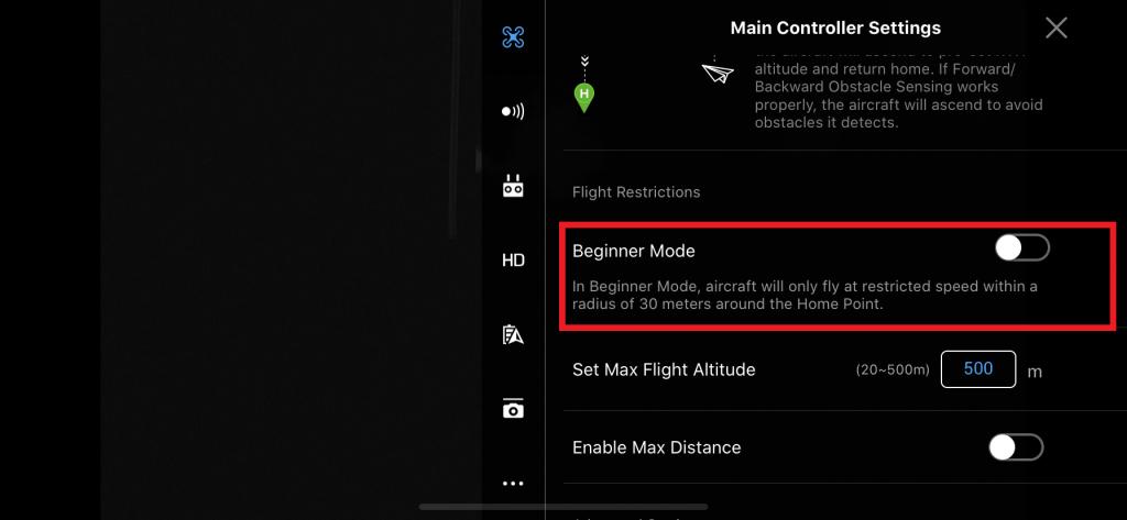 DJI Go 4 app beginners mode Mavic 2 Pro