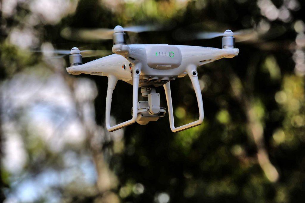 drone besturen met een smartphone