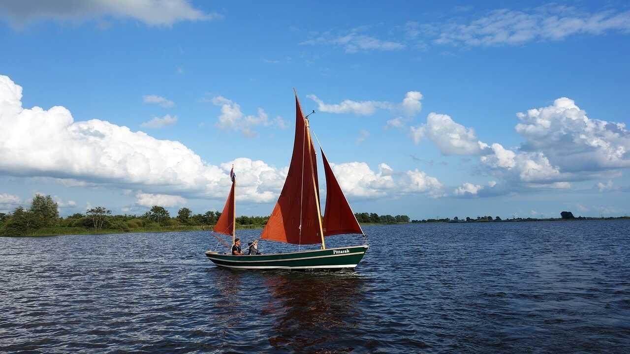 Friese meer zeilboot water natuur