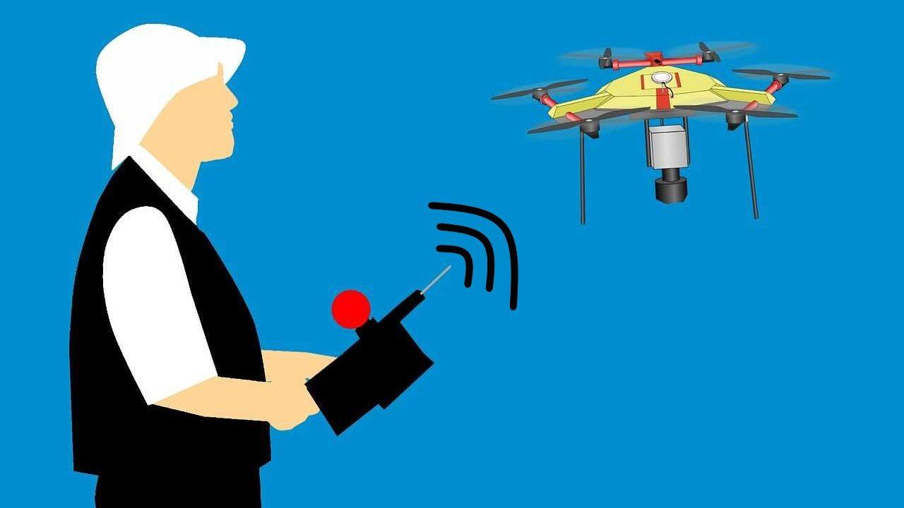 drone bereik vergroten controller drone tekening