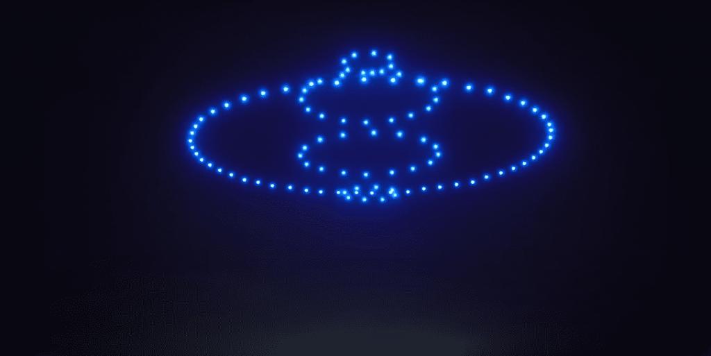 Hoe werkt een droneshow?
