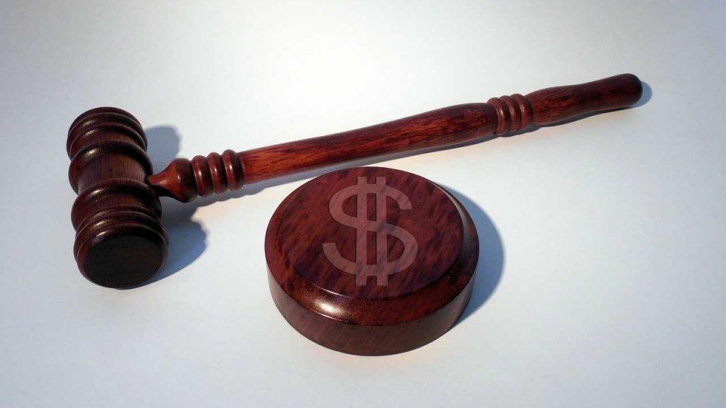 geldboete veroordelen rechter straf
