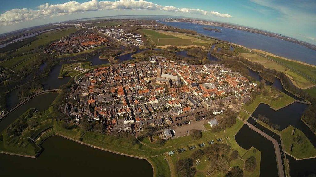 Drone locaties in Noord-Holland