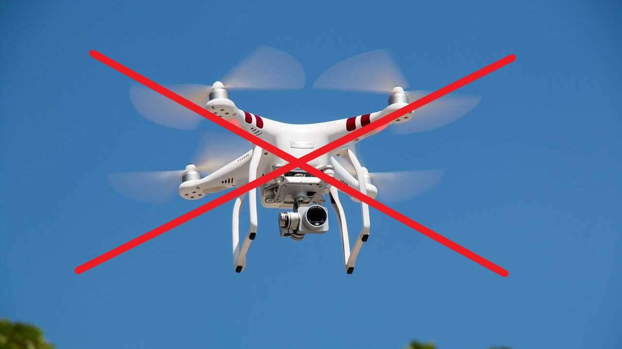 phantom 3 standard drone wit verboden vliegen