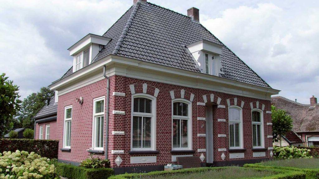 vrijstaand huis nederland villa tuin