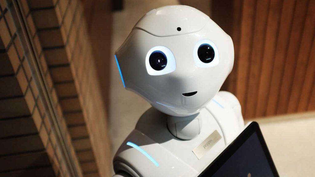 wit robot mens toekomst technologie