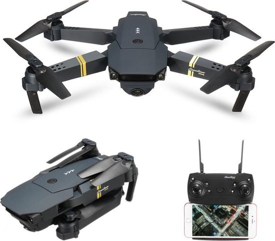 Eachine E58 speelgoeddrone zwart