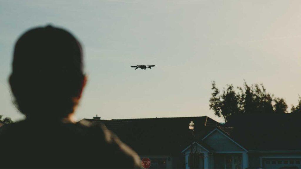 Leren drone vliegen