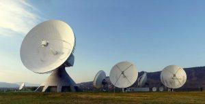 radar schotel GPS verbinding