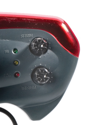 rc auto controller trimmen foto zijkant