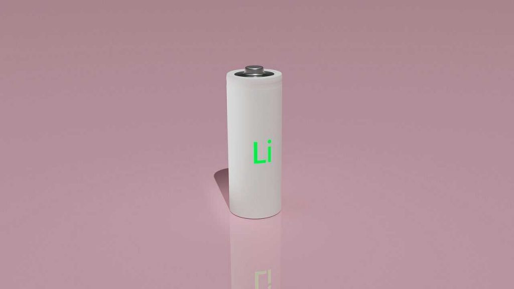 lipo batterij oplaadbaar wit roze achtergrond