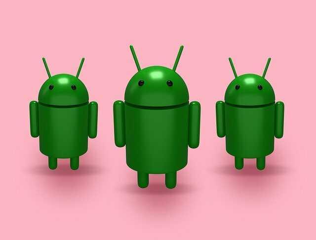 Android logo animatie