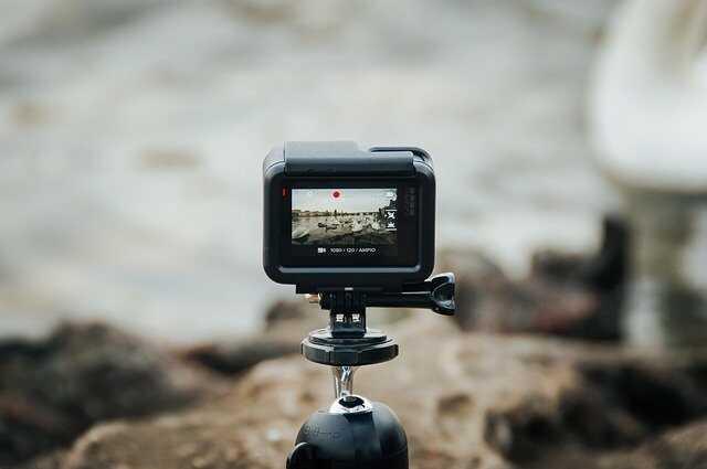 Beste GoPro preset settings gopro op statief