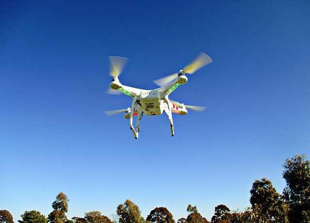 DJI Phantom 2 drone zonder camera
