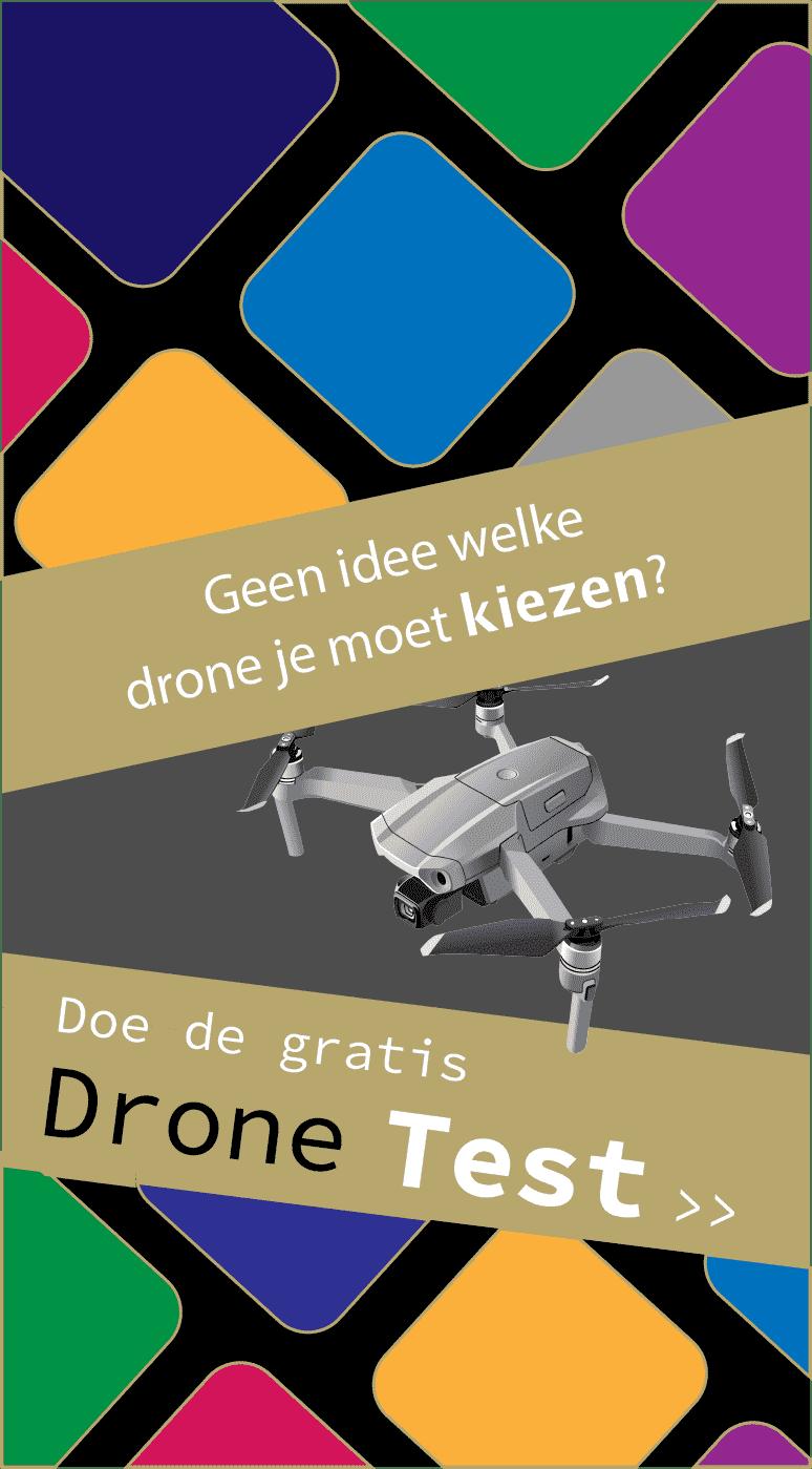 Drone test advies tool welke drone kopen