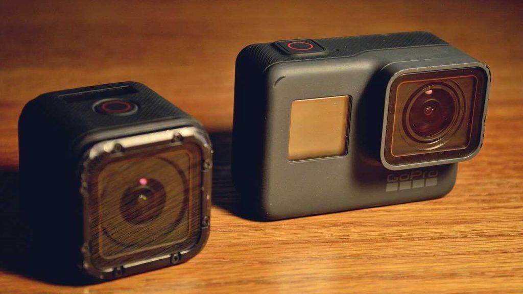 GoPro onderdelen vervangen/verwijderen