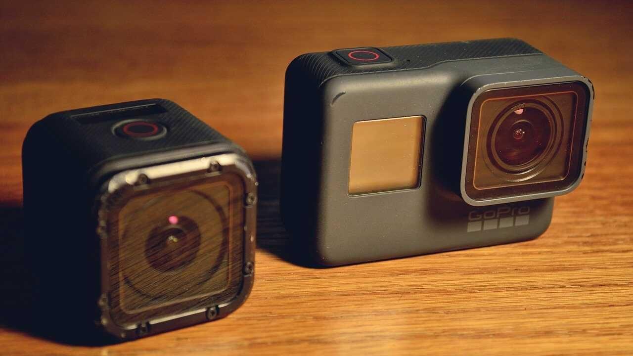 GoPro-Hero-camera-houten