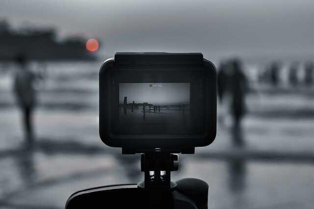 GoPro aanzetten