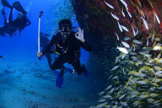 duiker onderwater GoPro camera instellingen