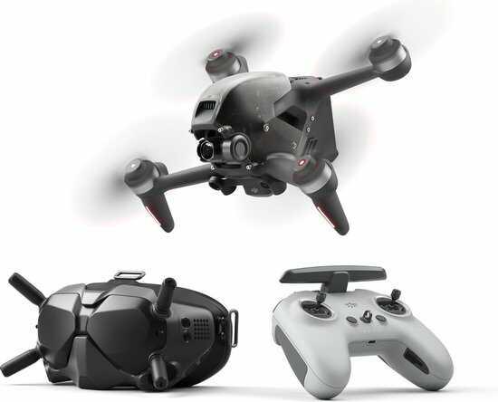 fpv drone voor racen googles en remote optimized
