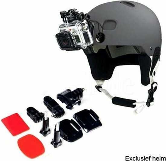 front mount gopro op helm bevestiging