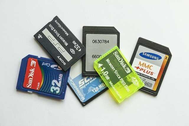 Hoe werkt een SD-kaart?