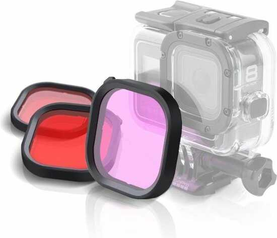 gopro lensfilter paars roze rood optimized