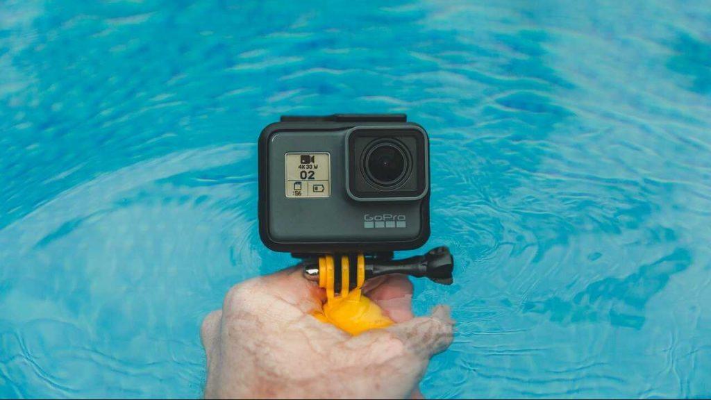 gopro onderwater zwembad waterdicht