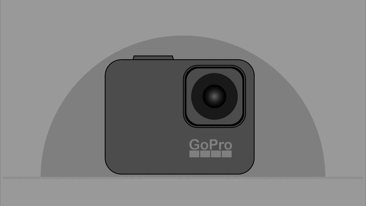 gopro tekening animatie webcam gebruik