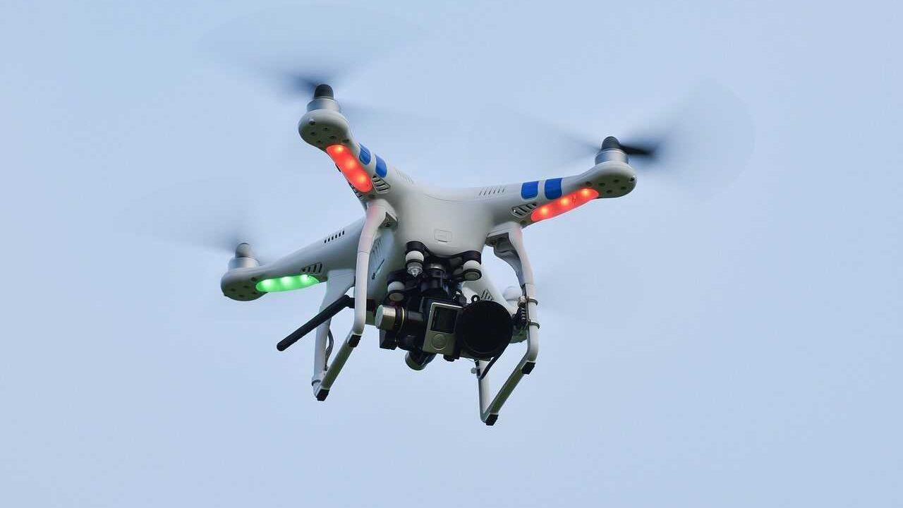 phantom 3 standard drone met GoPro camera