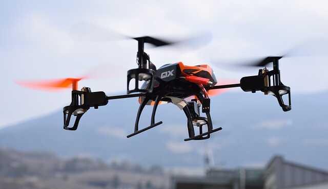 speelgoeddrone zonder camera