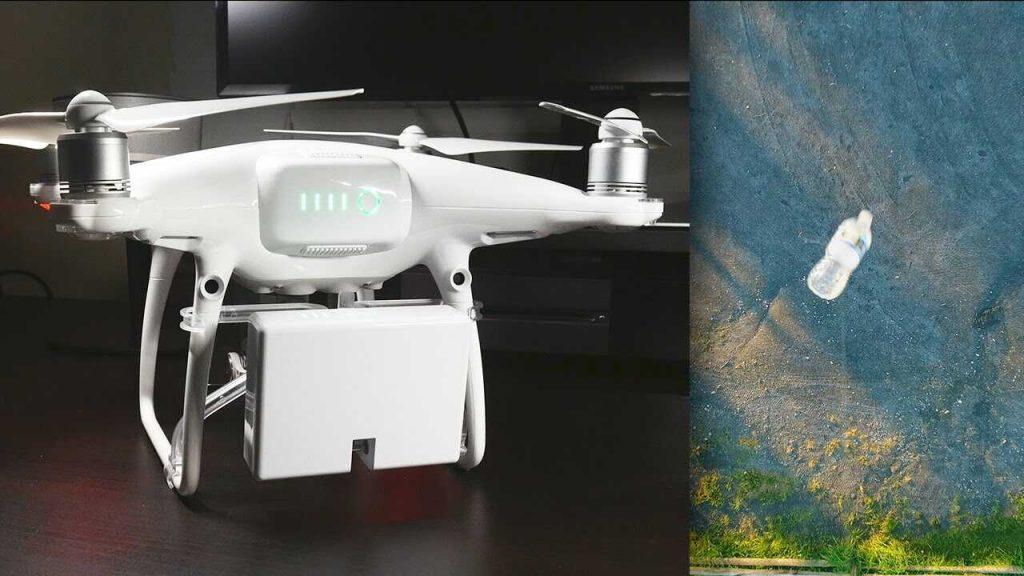 airdropper phantom drone met grijper optimized