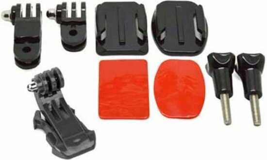 camera helmet front adhesive mount kit voor gopro optimized