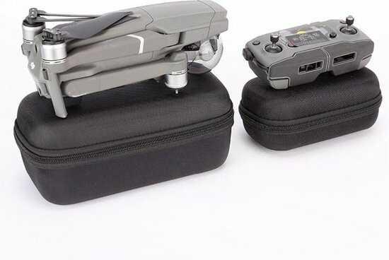dji mavic 2 pro opbergtas koffer in vliegtuig