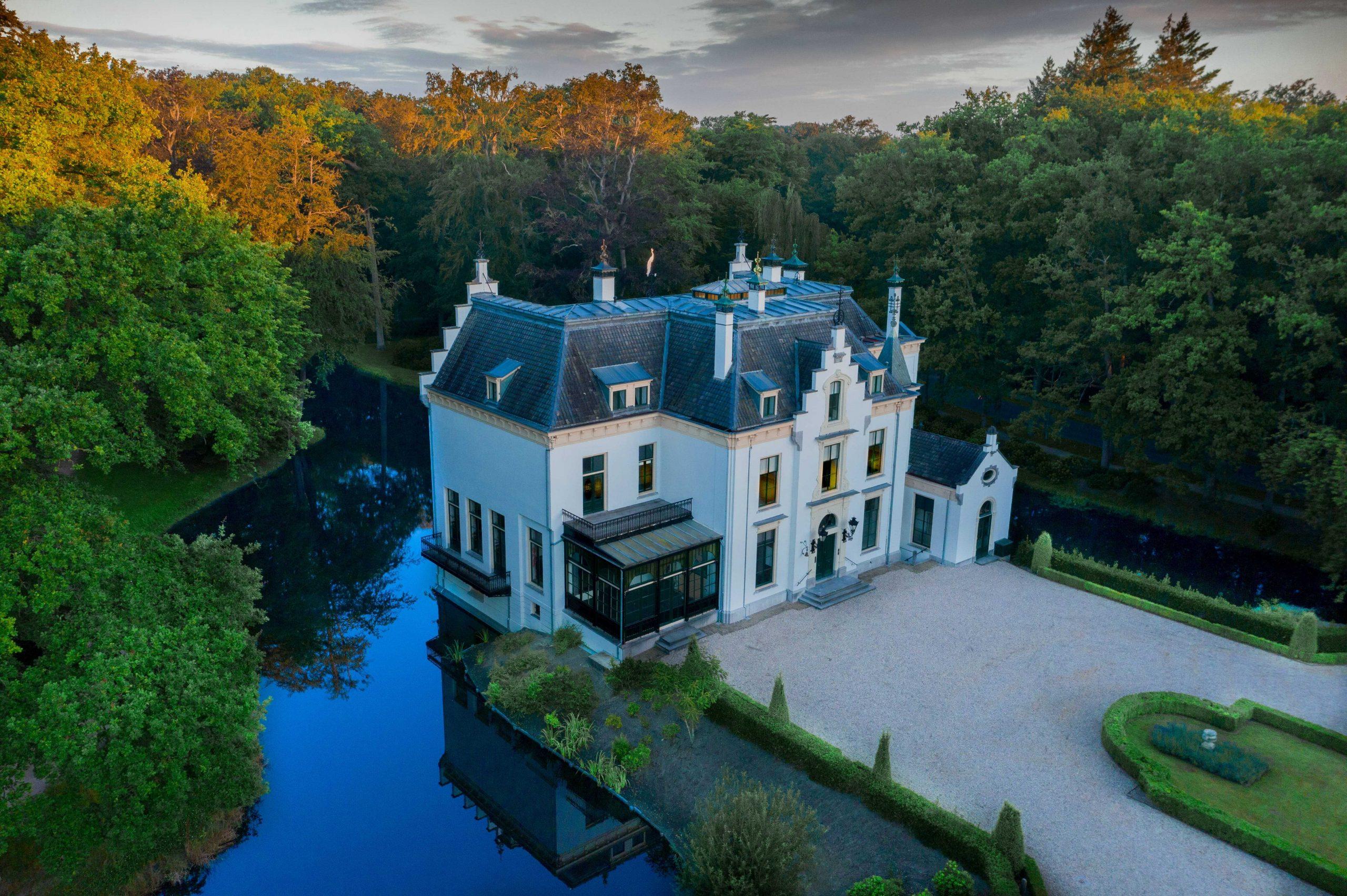 luchtfoto van huis